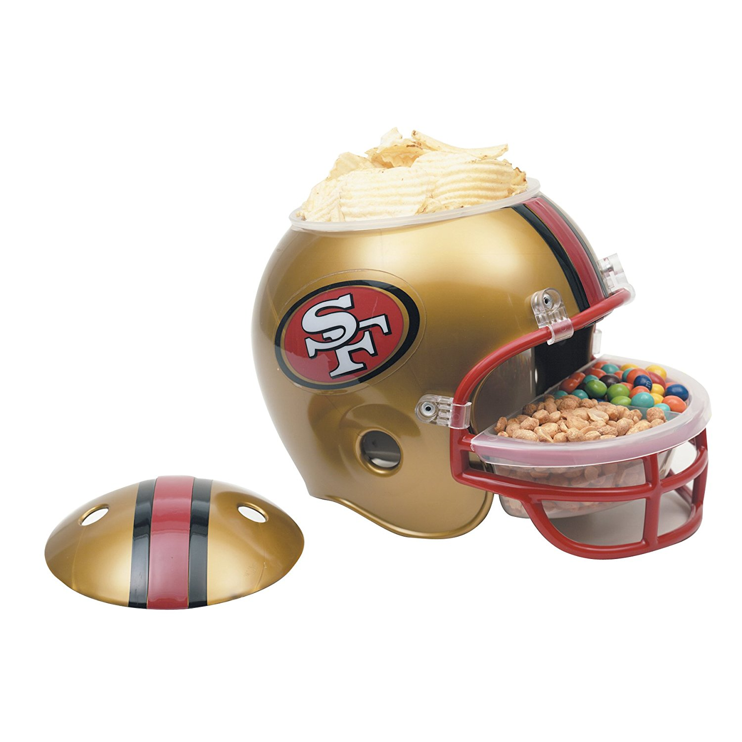 nfl football snack helm san francisco 49ers