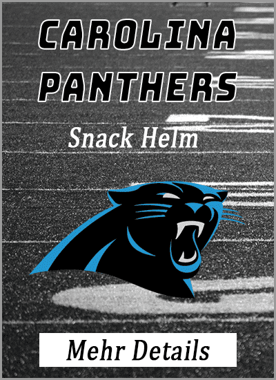 carolina panthers american football snack helm mehr details info vergleich amazon