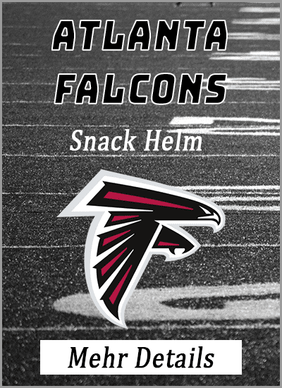 atlanta falcons american football snack helm mehr details info vergleich amazon