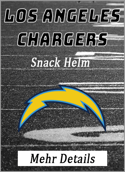 los angeles chargers american football snack helm mehr details info vergleich amazon