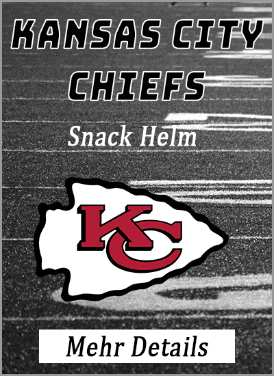 kansas city chiefs american football snack helm mehr details info vergleich amazon
