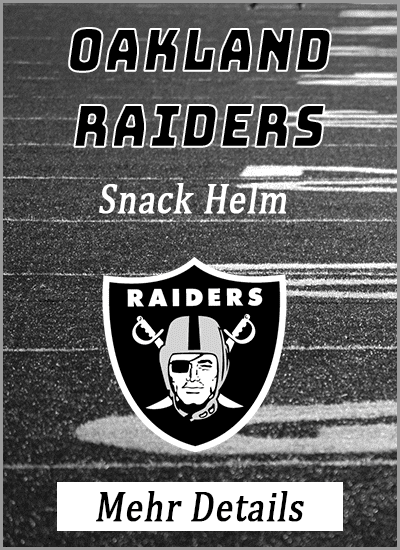 oakland raiders american football snack helm mehr details info vergleich amazon